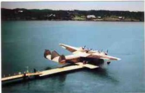 Pan American Clipper Flying Boat PBY 7 Postcards