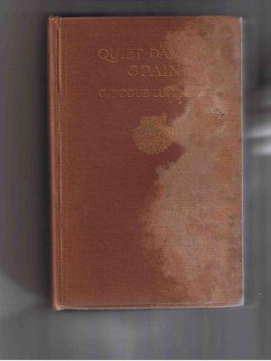 Quiet Days in Spain, by C. Bogue Luffmann (1910)