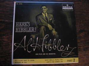 """Al Hibbler, """"Here's Hibbler"""" 45rpm EP"""