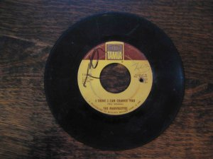 "Marvelettes Motown 45rpm: ""I Think I Can Change You"" b/w ""Hunter Gets Captured"" (1966)"