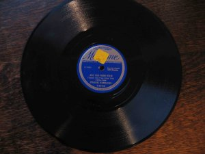 """Prairie Ramblers 78, """"Are You from Dixie"""" b/w """"The Preacher and the Bear"""""""