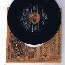 "Four Aces 45rpm single, ""Love Is a Many Splendored Thing"" b/w ""Shine On Harvest Moon"""