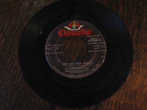 """Frankie Avalon 45rpm single, """"Just Ask Your Heart"""" b/w """"Two Fools"""""""