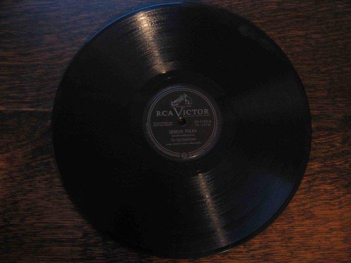 "Six Fat Dutchmen 78 rpm single, ""Geneva Polka"" b/w ""Dutch Boy"" waltz"