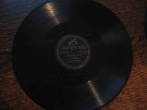 "Six Fat Dutchmen 78 rpm single, ""Barnyard Polka"" b/w ""Slip Horn"""