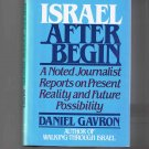 Israel after Begin, by Daniel Gavron (1984, hardcover, new)