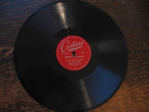 "Johnny Dodds 78 rpm dixieland record, ""Weary Way Blues"" b/w ""There'll Come a Day"""