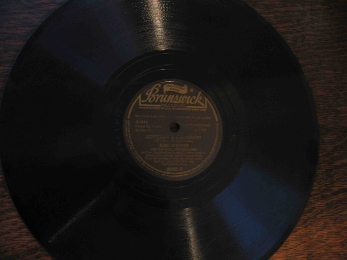 """King Oliver 78 rpm record, """"Someday Sweetheart"""" b/w """"Too Bad"""" (1926)"""