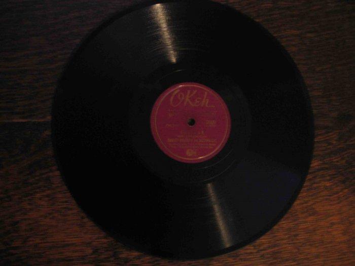 "Barney Bigard 78 rpm record, ""Caravan"" b/w ""Stompy Jones"""