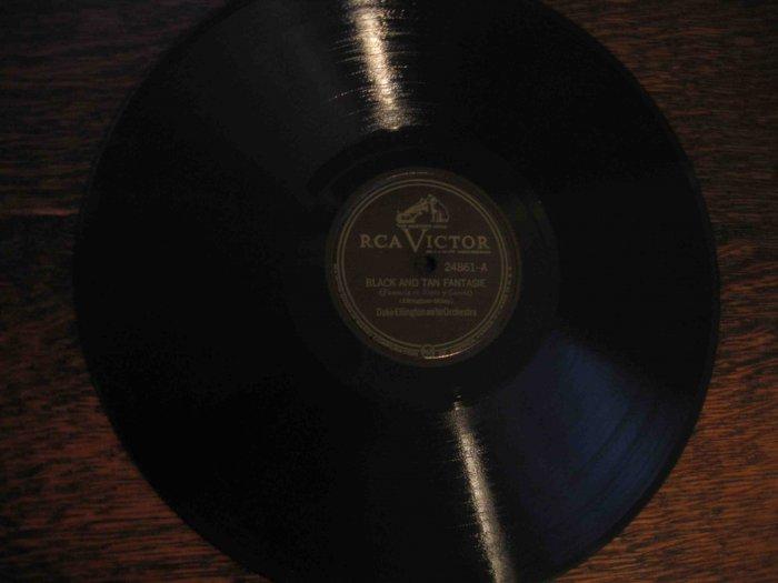 "Duke Ellington 78 rpm record, ""Black & Tan Fantasie"" b/w ""Creole Love Call"""