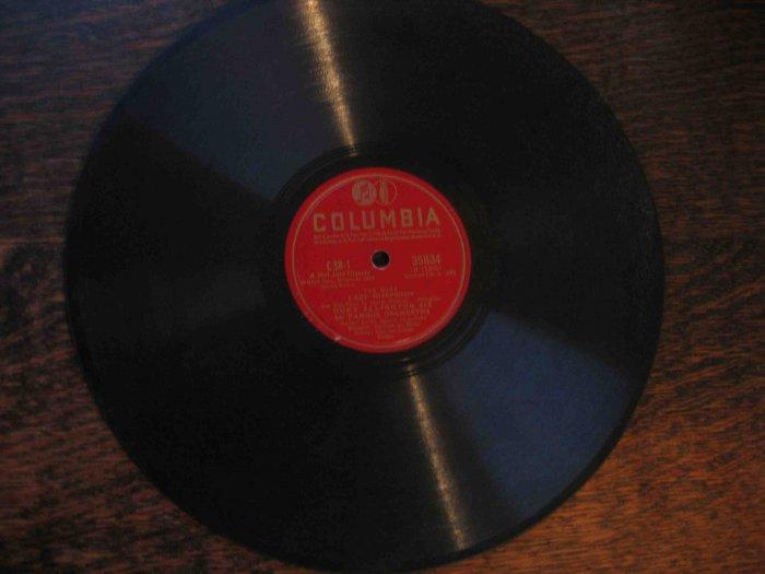 "Duke Ellington 78 rpm record, ""Lazy Rhapsody"" b/w ""Blue Ramble"" (1932)"