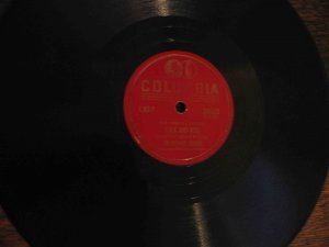 """Boswell Sisters 78 rpm record, """"Rock and Roll"""" b/w """"The Object of My Affection"""""""
