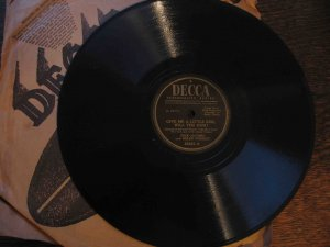 """Dick Haymes/Helen Forrest 78 rpm, """"Give Me a Little Kiss, Will You Huh?""""/""""Oh! What It Seemed to Be"""""""