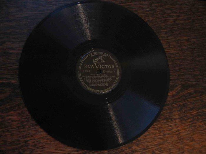 "Bunny Berigan 78 rpm record, ""'Deed I Do"" b/w ""High Society"" (1938)"