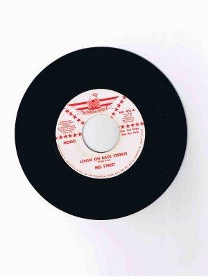 "Mel Street 45 rpm Nashville country single, ""Lovin' on Back Streets"" (1972)"