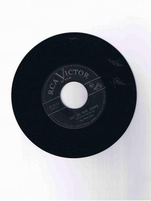 "Three Suns 45 rpm single, ""Just One More Chance"" b/w ""The Creep"""