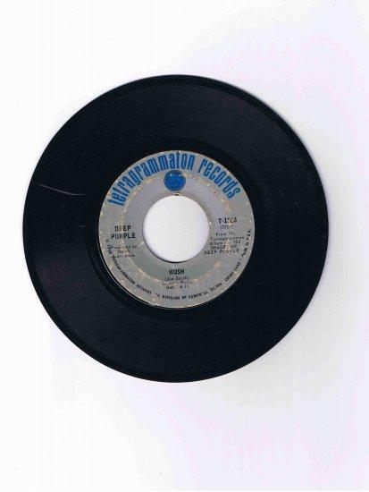 "Deep Purple 45 rpm single, ""Hush"" b/w ""One More Rainy Day"" (1968)"