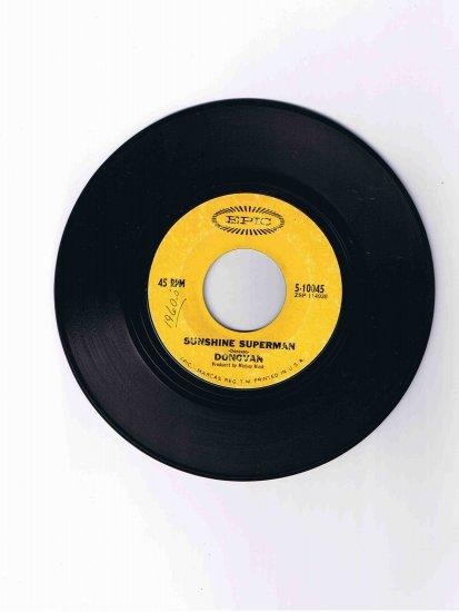 "Donovan 45 rpm single, ""Sunshine Superman"" b/w ""The Trip"""