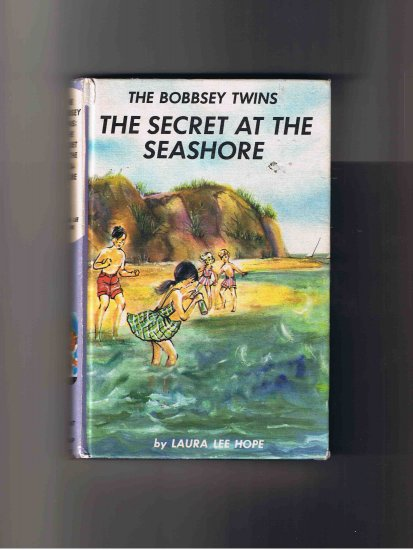 The Bobbsey Twins: The Secret at the Seashore, by Laura Lee Hope (1962), hardcover