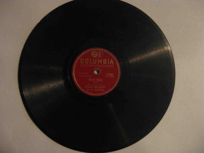 "Edward Krolikowski 78 rpm record, ""Emilia Polka"" b/w ""Helena Polka"""
