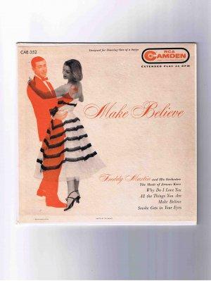 "Freddie Martin/Merv Griffin 45rpm EP, ""Make Believe"": Jerome Kern songs, picture sleeve"