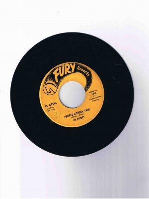 "Lee Dorsey 45 rpm single, ""Do-Re-Mi"" b/w ""People Gonna Talk"" (Fury Records)"