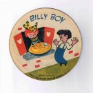 "Nursery rhyme 78rpm picture disk ('40s?), ""Billy Boy"" / ""Three Little Kittens"""