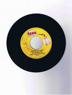 "Strangeloves 45 rpm single, ""Rhythm of Love"" / ""Night Time"""