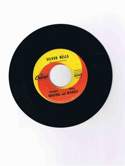 """Vince Fiorino Trio 45 rpm single, """"Red Canary (Indian Song)"""" / """"Tuba Square Dance"""""""