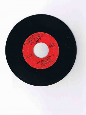 "Al Serafini 45rpm single, ""Who Can I Turn to""/""Blues in the Night"" (Rozan)"