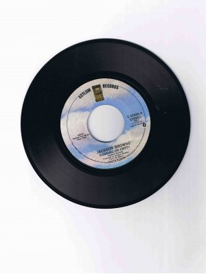 """Jackson Browne, 45rpm single, """"Running on Empty"""" / """"Nothing but Time"""" (1978) Near Mint"""