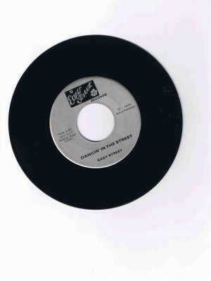 "Easy Street 45rpm single, ""Dancin' in the Street"" / ""Always Be a Love Song"" (1974) scarce item"