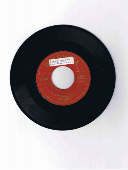 "Frankie Yankovic & His Yanks 45rpm single, ""Duluth Polka"" / ""Until You Came to Me"""