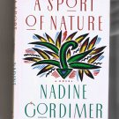 A Sport of Nature, by Nadine Gordimer (1987, hardcover, brand new)