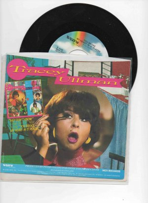 Tracey Ullman 45, �They Don�t Know�/�You Broke My Heart in 17 Places� NM w/pic sleeve