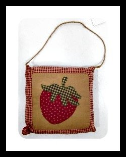 Hanging Pillow Strawberry