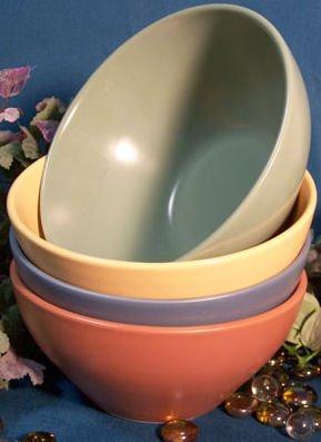 Fiesta Style Stoneware Bowl set of 4