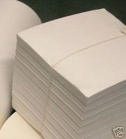 250pc 6x6 Cutaway Embroidery Backing Stabilizer 2.5oz