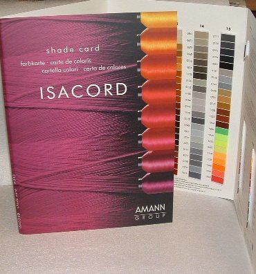 Isacord Embroidery Thread Chart