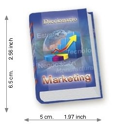 Dictionary Of Marketing - Luxury - Mini Book