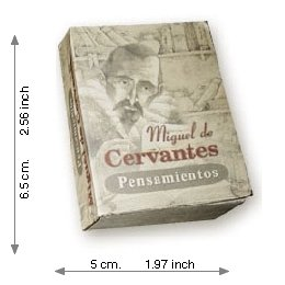 The Thought Of Miguel De Cervantes  - Mini Book
