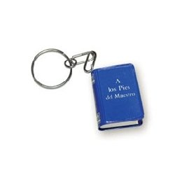 To The Feet Of The Master - Key ring - Mini Book