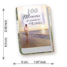 100 ways Of Fighting The Stress - Luxury - Mini Book