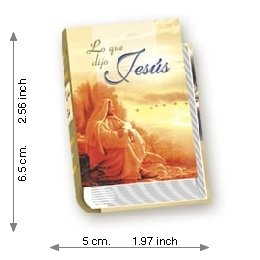 Jesus Said What - Luxury - Mini Book