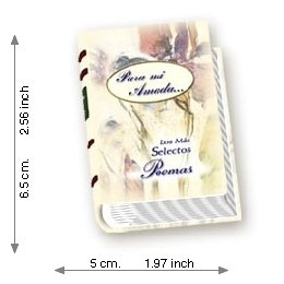 For Me Loved the Most select Poems - Luxury - Mini Book