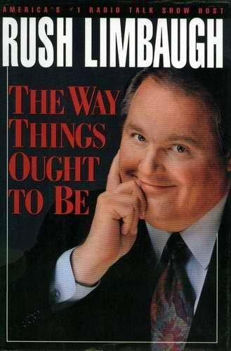 RUSH LIMBAUGH Way Things Ought to Be HCDJ 1992