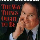 RUSH LIMBAUGH Way Things Ought to Be HCDJ 1992