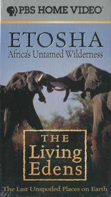 PBS ETOSHA Africas Untamed Wilderness NEW
