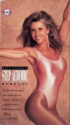 JANE FONDA Step Aerobic ABDOMINAL Workout VHS