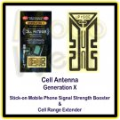 Generation X Cell Antenna Stick-on Mobile Phone Signal Strength Booster & Cell Range Extender